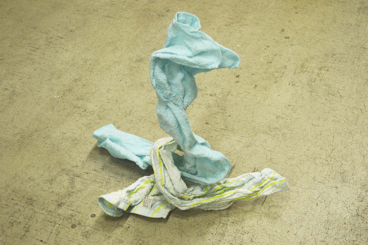 Towel Sculpture. 2012. Yuta  Yakahima