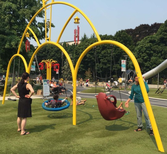11 Seattle center Playground Trimpin & Judith Caldwell